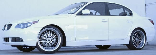 Axis Penta Wheels on BMW 5 Series