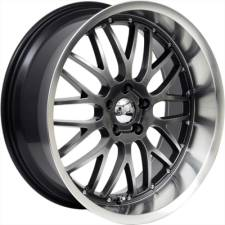 Axis Penta Hyper Black Wheels