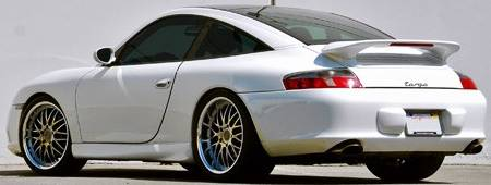 Axis Penta Wheels on Porsche Targa