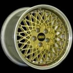 BBS E50 Flat Gold