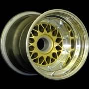 BBS E63 Gold