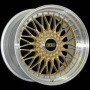 BBS Super RS-19 Gold Center Diamond Cut