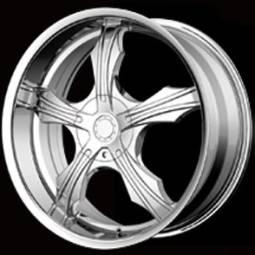 Bigg Trouble Chrome Wheels