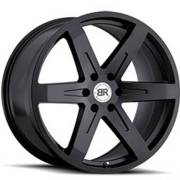 Black Rhino Peak Matte Black Wheels