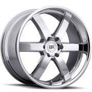 Black Rhino Pondora Chrome Wheel