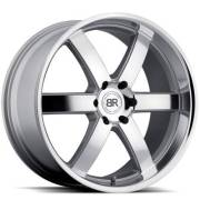 Black Rhino Pondora Silver Wheel