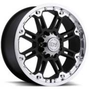 Black Rhino Rockwell Gloss Black Off Road Wheels