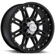 Black Rhino Rockwell Matte Black Off Road Wheels