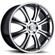 Black Rhino Sabi Gloss Black Machine Truck Wheels