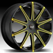 Blaque Diamond Dust Black with Custom Yellow
