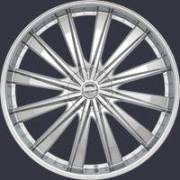 Borghini BW 19 Chrome Wheels