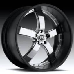 Boss Motorsports 61 Chrome w/Black Barrel