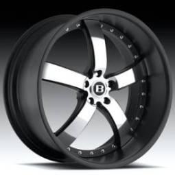 Boss Motorsports 61 Chrome w/Black Outer