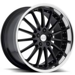 Coventry Whitley Black Wheels for Jaguar