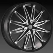 DCenti DW 5A Black Machined Wheels