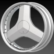 DCenti DW 617 Chrome Wheels