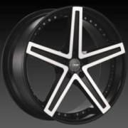 DCenti DW 6A Black Machined Wheels