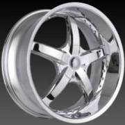 DCenti Wheels DW 703 Chrome Wheels