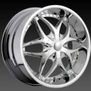 DCenti Wheels DW 709 Chrome Wheels