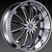 DCenti Wheels DW 8 Chrome Wheels