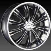 DCenti DW 909/M Black Machined Wheels