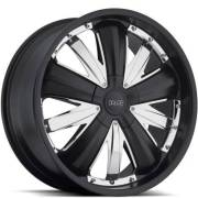Dolce DC54 Matte Black Chrome inserts