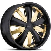 Dolce DC54 Matte Black Gold Inserts
