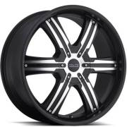 Dolce DC76 Matte Black Machined