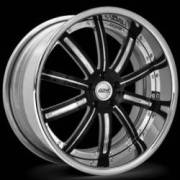 Donz Wheels Anastasia Black Chrome