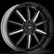 Donz Wheels Anastasia Black White
