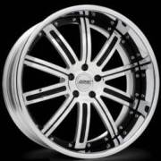 Donz Wheels Anastasia Chrome Black