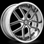 Donz Wheels Bruno Black Polished
