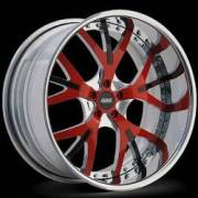 Donz Wheels Gaglino Red Black