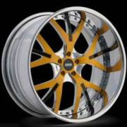 Donz Wheels Gaglino Yellow Black
