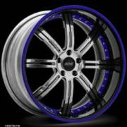 Donz Wheels Galante Chrome Blue