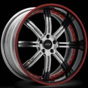 Donz Wheels Galante Chrome Red