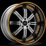 Donz Wheels Galante Chrome Yellow