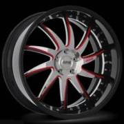 Donz Wheels Gallo Red Stripe