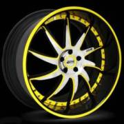 Donz Wheels Gallo Yellow