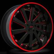 Donz Wheels Guerra Red