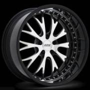 Donz Wheels Luchese Chrome Black