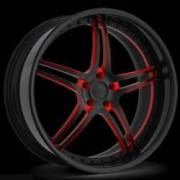 Donz Wheels Masseria Black Red