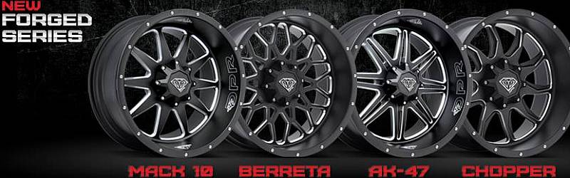 New DPR Off-Road Forged Series Wheels for Trucks