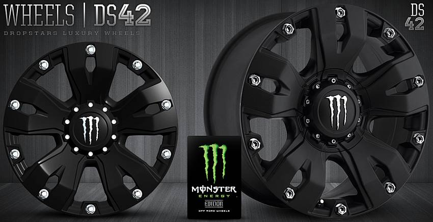 Dropstars DS42 Monster Wheels
