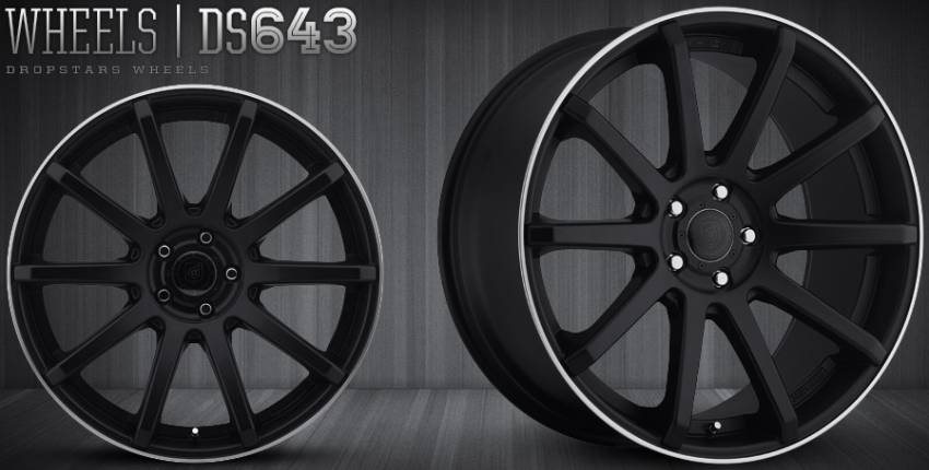 Dropstars DS643 Wheels