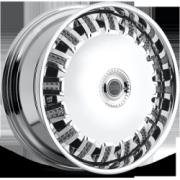 DUB Opera Chrome Spinning Wheels