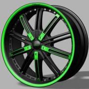 DVINCI Agio Black w/Green Accents