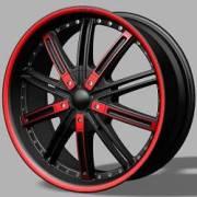 DVINCI Agio Black w/Red Accents