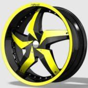 DVINCI Gira Black w/Yellow color stitching