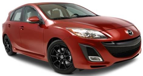 Enkei EDR9 Wheels on Mazda